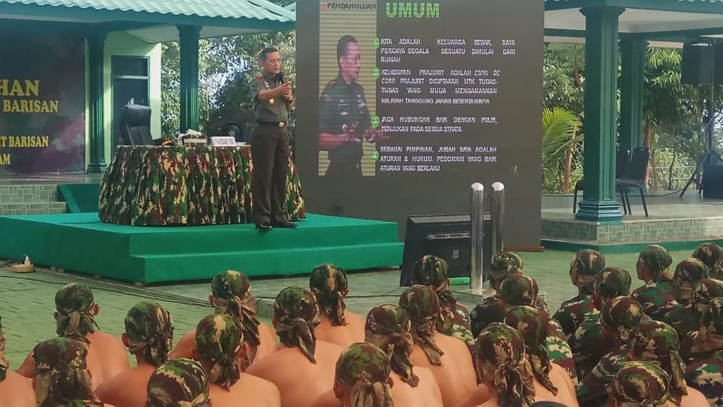 Mayjen MS Fadhilah Kunjungi Yonif Raider Khusus 136/TS