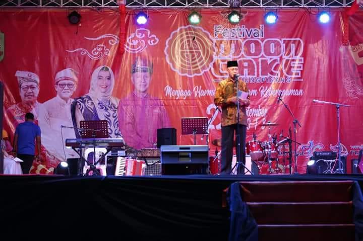 Syahrul Buka Festival Moon Cake.