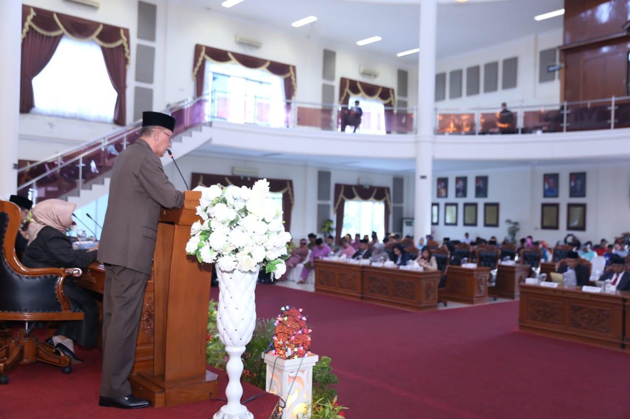 Walikota paparkan Visi Misi bersama DPRD Kota Tanjungpinang