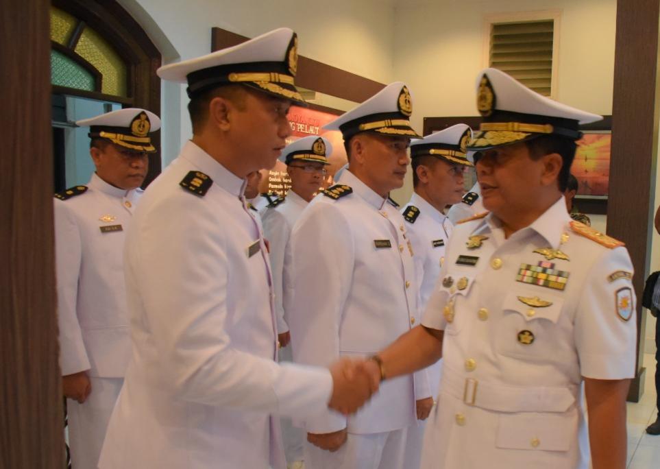 34 Perwira Lantamal IV Naik Pangkat di Hari Kesaktian Pancasila