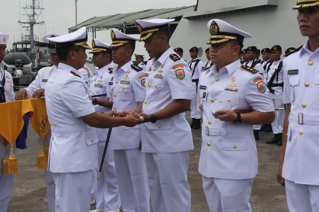 Empat Jabatan Komandan KRI Satkat Koarmada I Diserahterimakan