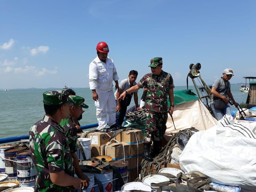 Berlayar Tidak Dilengkapi SPB, F1QR Lanal TBKTangkap Kapal Berbendera Mongolia