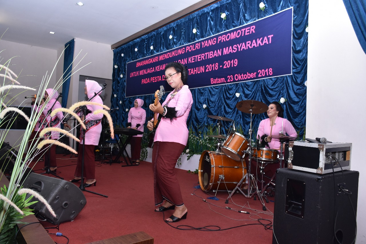 Bhayangkari Tanjungpinang Juara 1 Got Talent HUT HKGB ke 66
