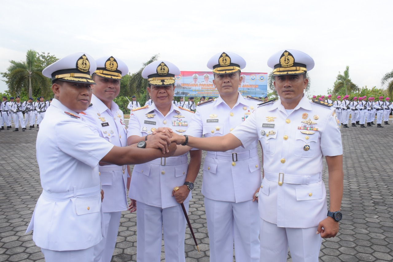 Dua Lanal di Jajaran Lantamal IV Miliki Komandan Baru