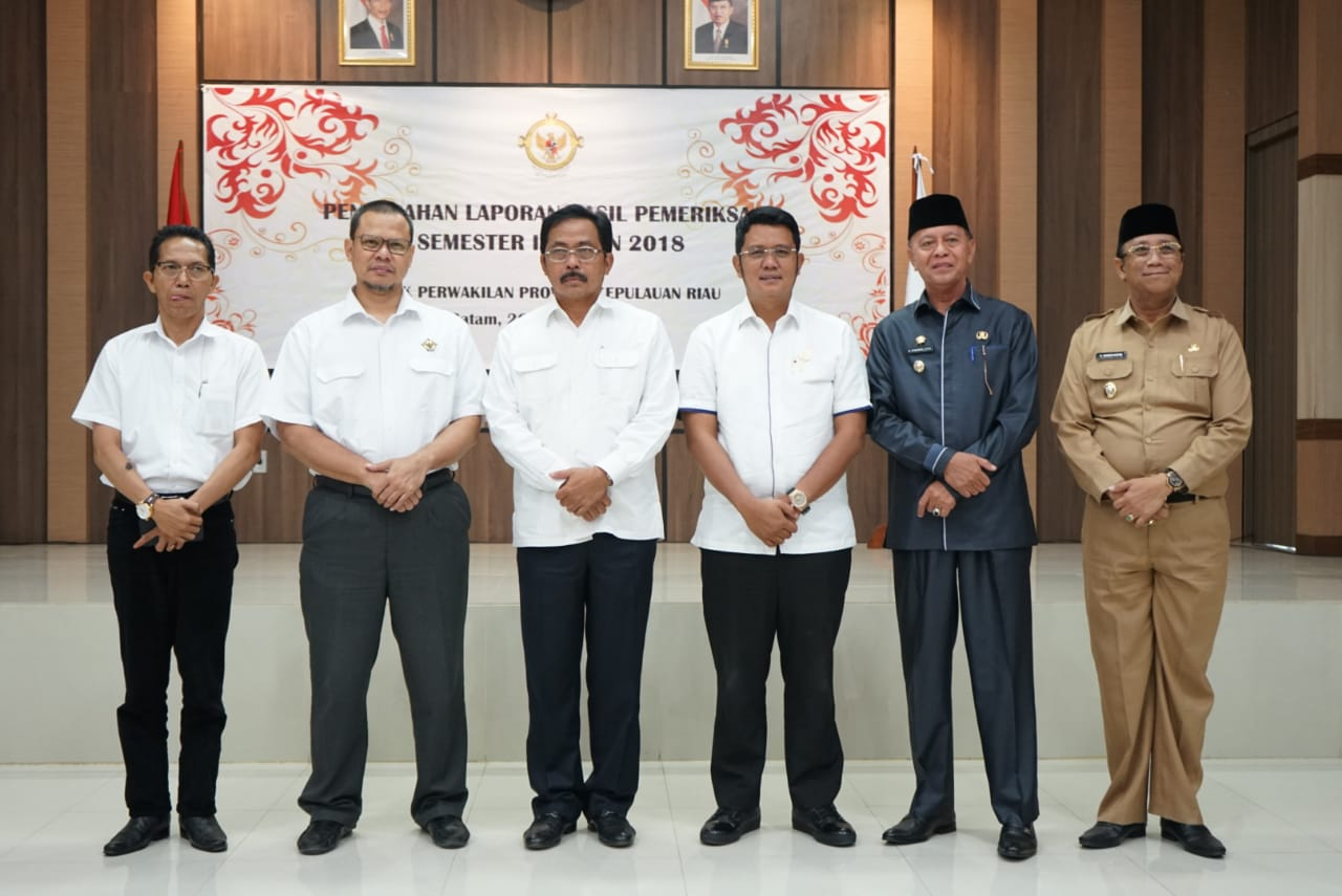 Tanjungpinang Terima LHP Semester II dari BPKP Kepri