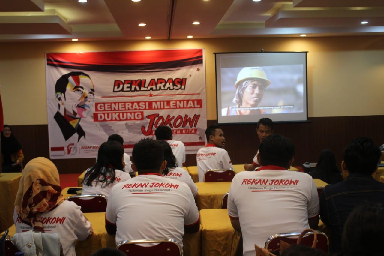 Pemuda Riau Deklarasi Dukung Jokowi-Maaruf