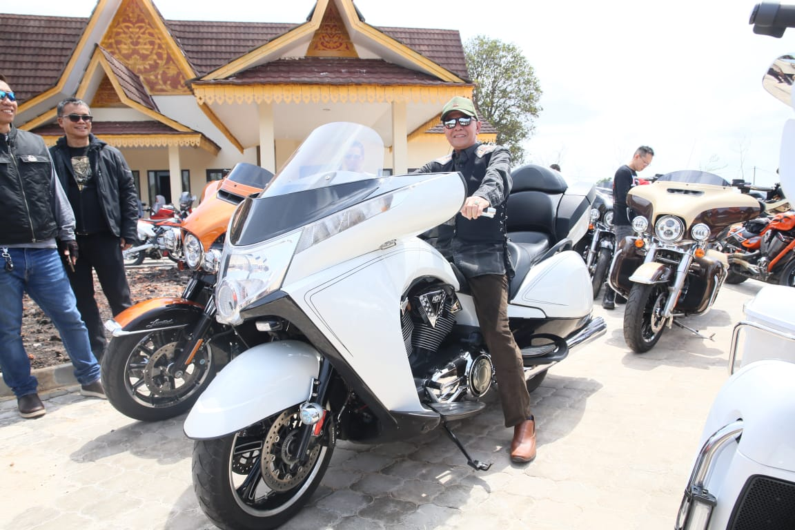 Walikota ikut Touring Harley Davidson