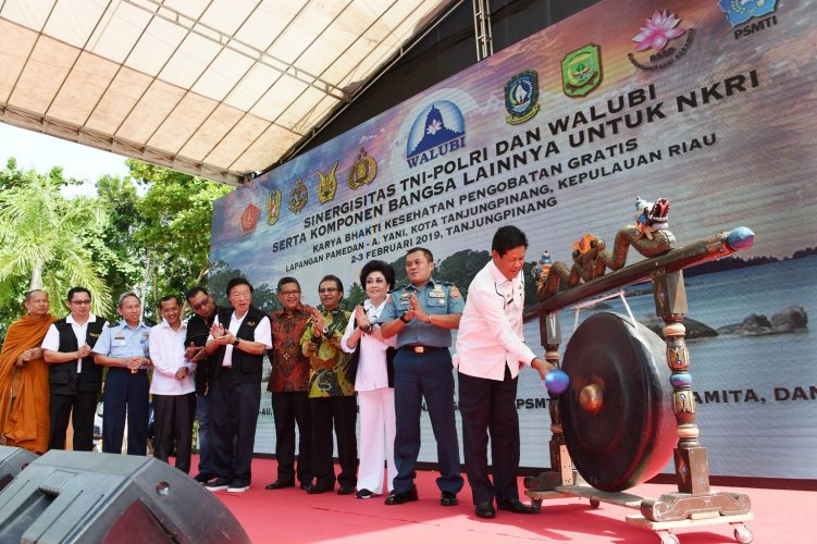 Wagub Buka Baksos WALUBI Menjelang Imlek 2019
