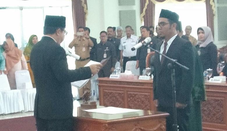 M. Kurniawan Dilantik PAW DPRD Tanjungpinang