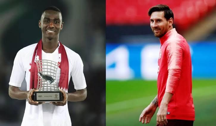 Messi Kirim Hadiah Spesial Buat Almoez Ali