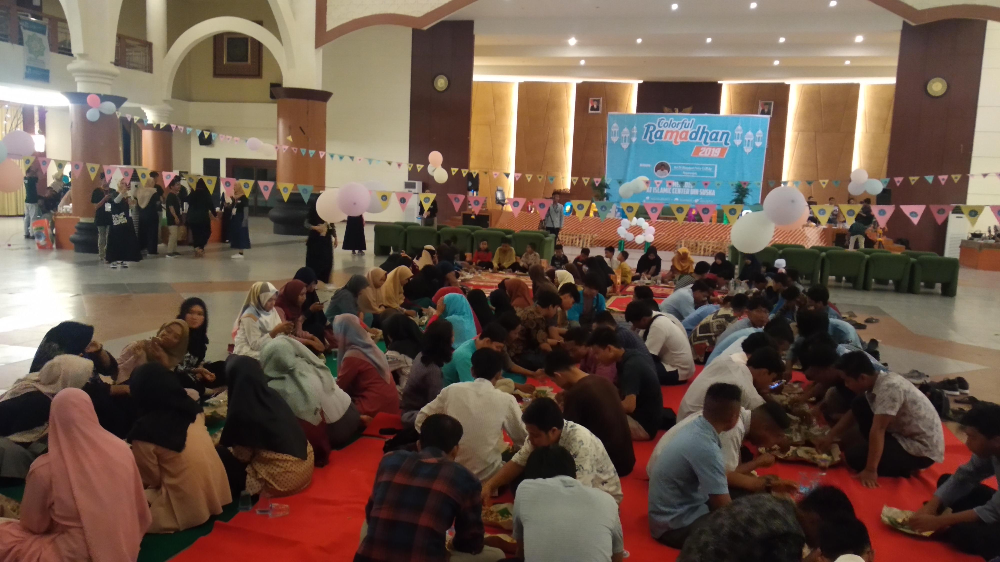 Acara Colorful Ramadhan mewarnai UIN SUSKA