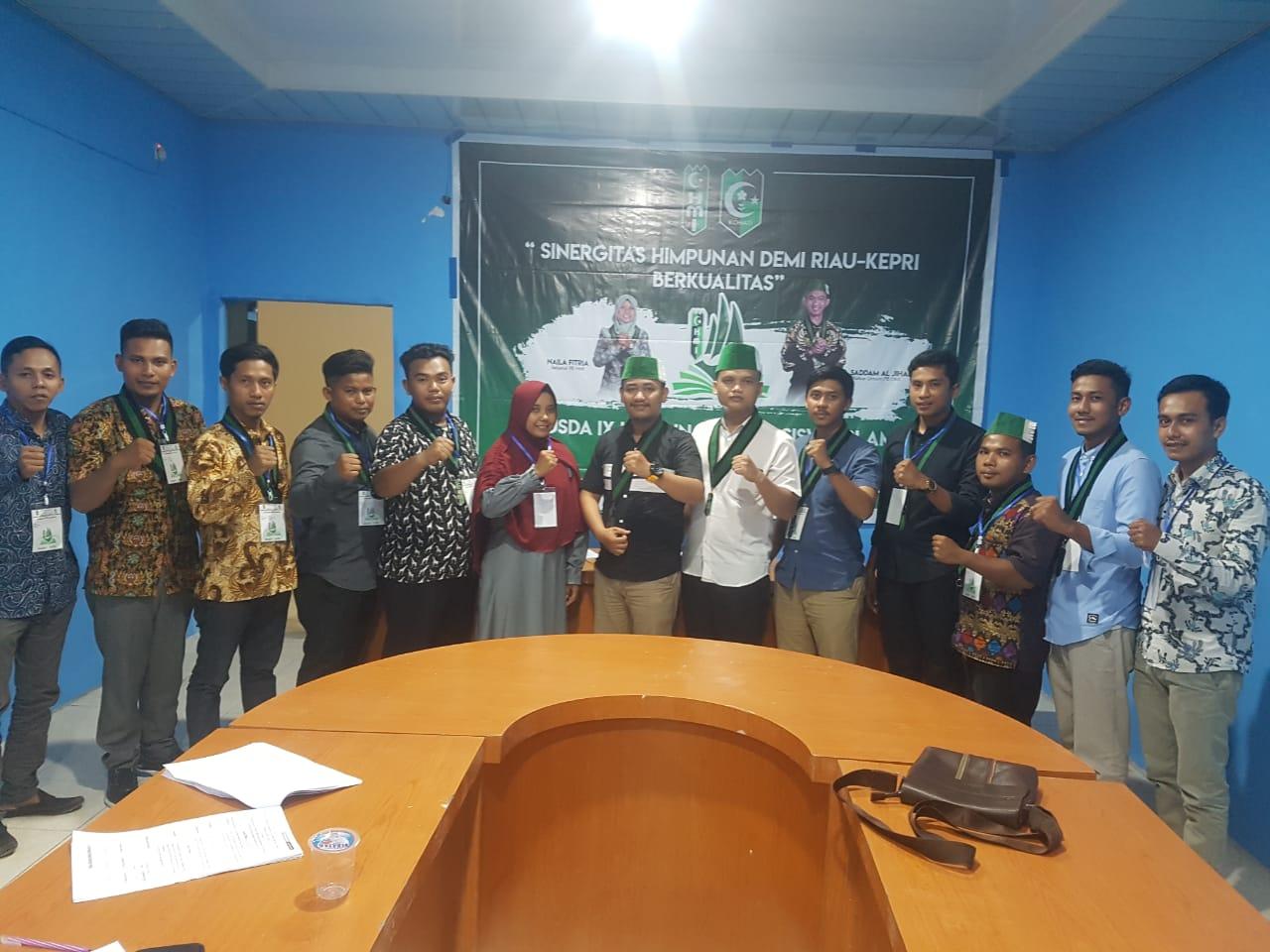 Sahrin Pimpin HMI Badko Riau-Kepri