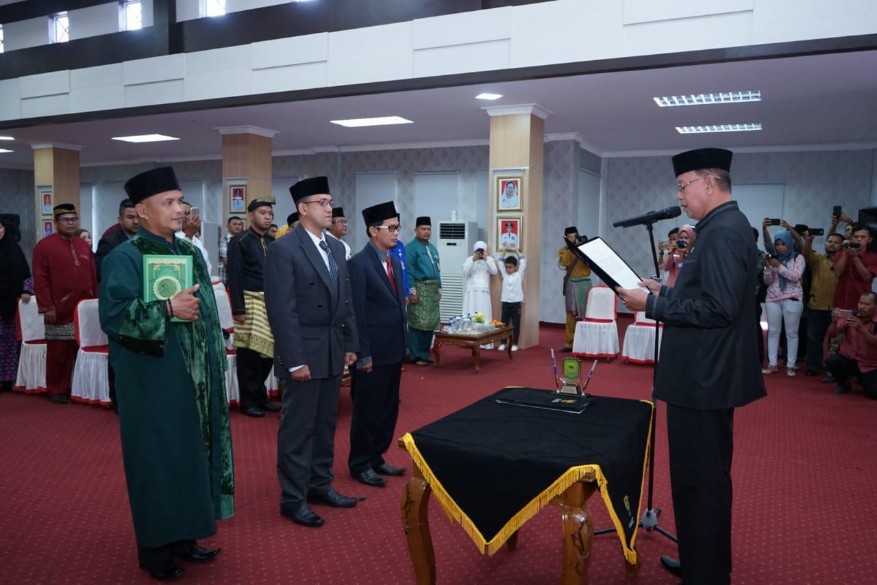 Fahmi dan Irwandy Pimpin BUMD Tanjungpinang,Syahrul:BUMD Penggerak Ekonomi Tanjungpinang