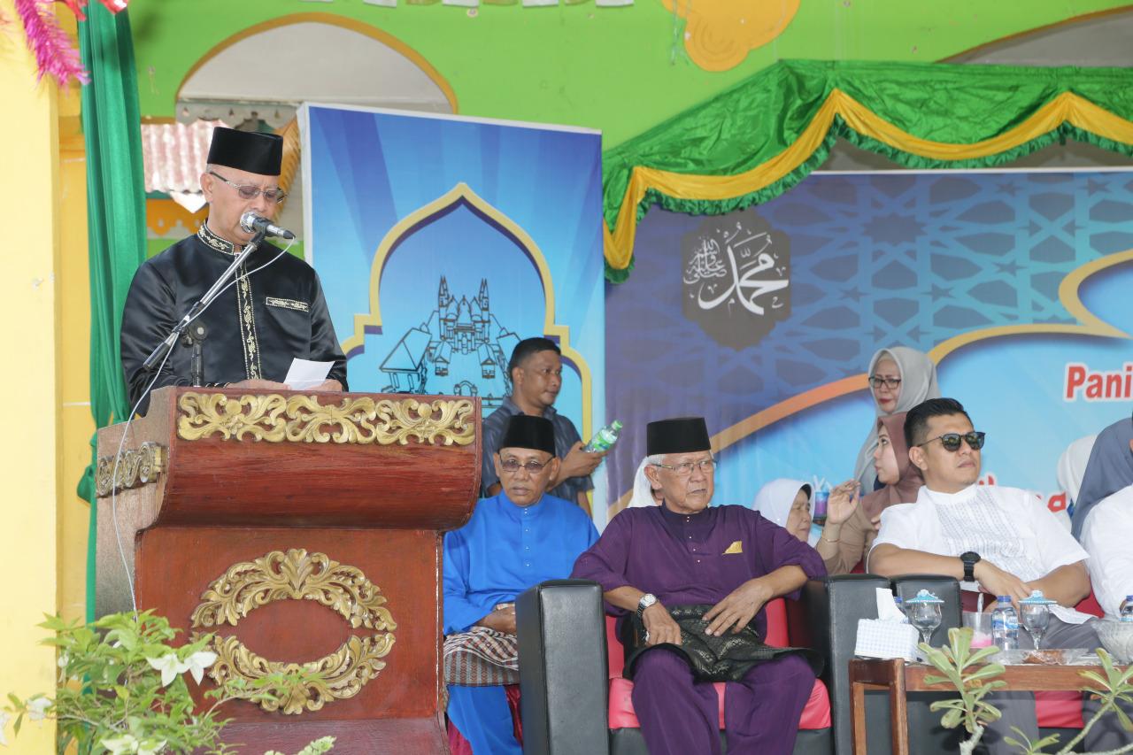 Masyarakat Pulau Penyengat Antusias Peringati Maulid Nabi Muhammad SAW