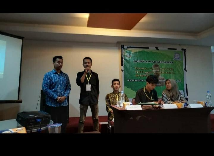Gunawan Nakhodai IPMKBP-Pekanbaru