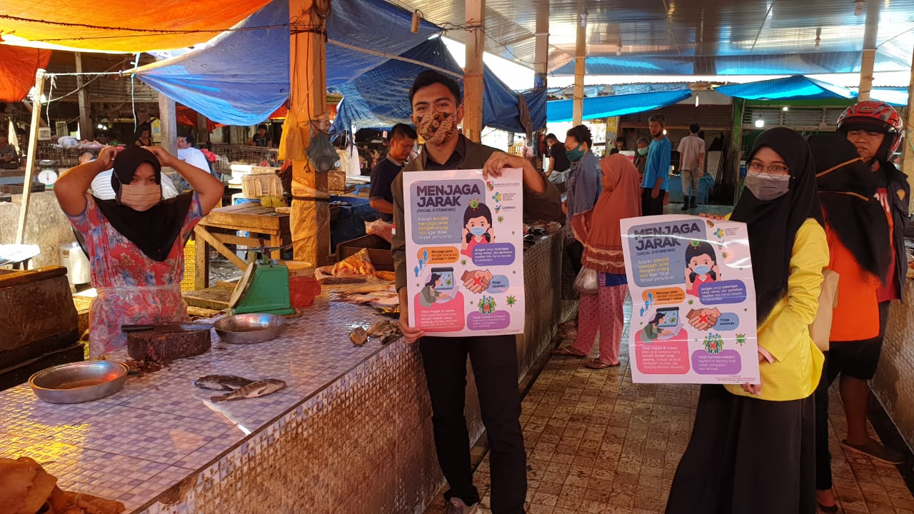 Stifar Riau Edukasi Penggunaan Masker