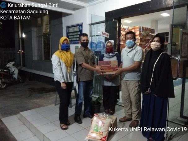 PENGABDIAN KEPADA MASYARAKAT UNIVERSITAS RIAU DI SATGAS KELURAHAN SUNGAI BINTI BATAM