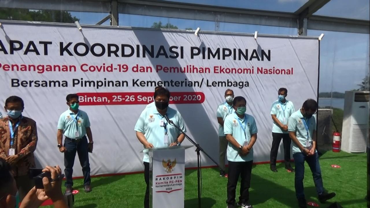 Komite PC-PEN Bahas Isu Strategis untuk Tangani Pandemi dan Pulihkan Ekonomi