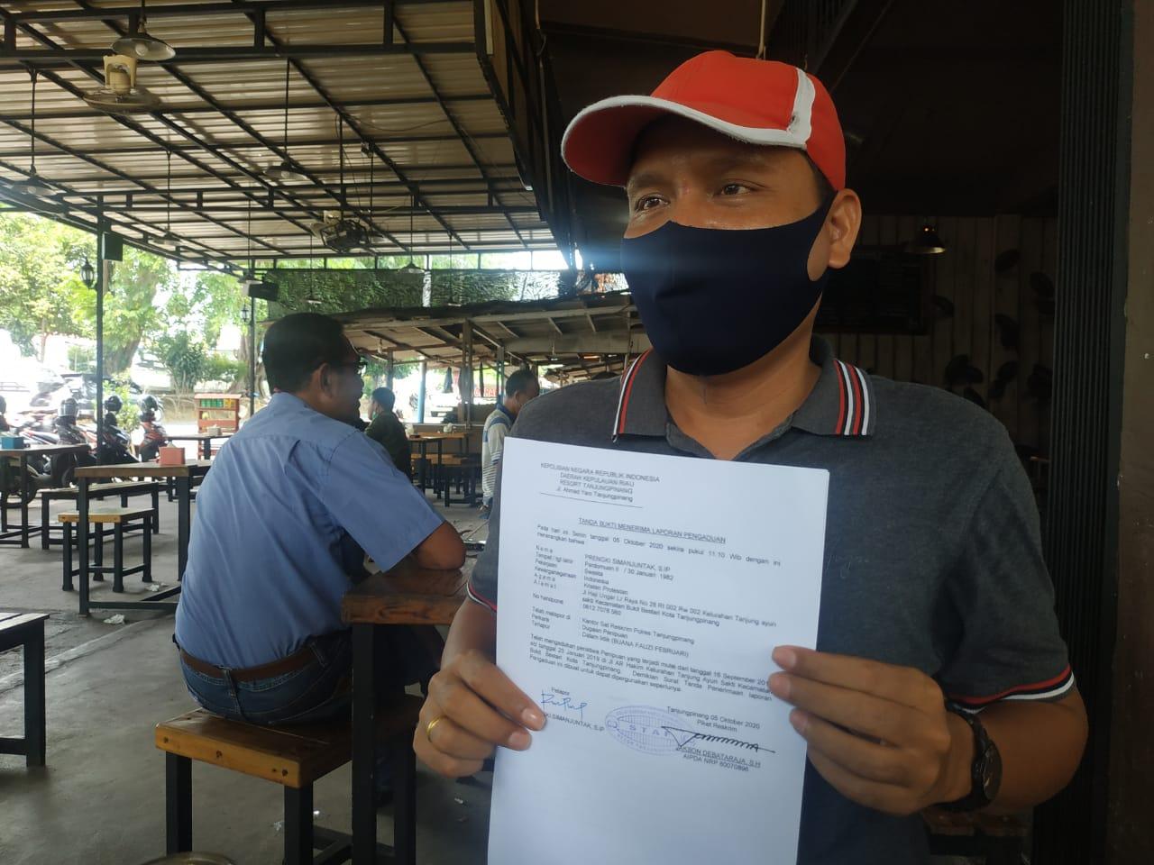 Oknum PNS Dilaporkan Ke Polres Tanjungpinang