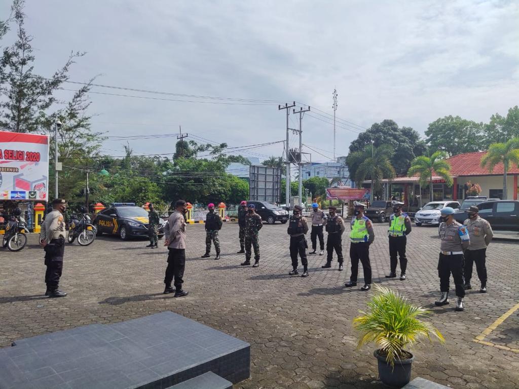 Jelang Pilkada Serentak, Polres Tanjungpinang Tingkatkan Patroli Gabungan TNI-POLRI