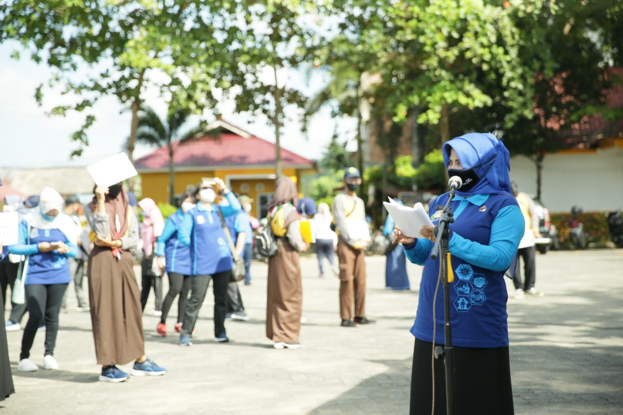 Peringati HKN ke-56, Dinkes Kota Sebarkan 6.000 Masker dan Vitamin C