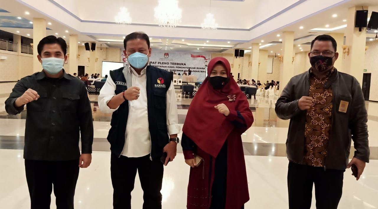 Ketua Bawaslu RI: Alhamdulillah Penyelenggara Pemilu Kepri Berintegritas