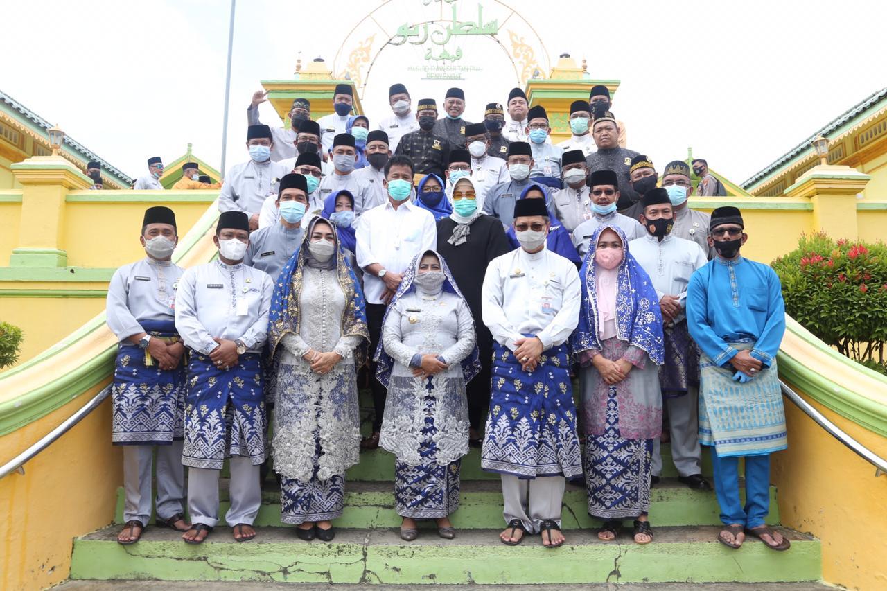 Hari Jadi ke-237 Tanjungpinang, Pemko Gelar Ziarah Makam Leluhur