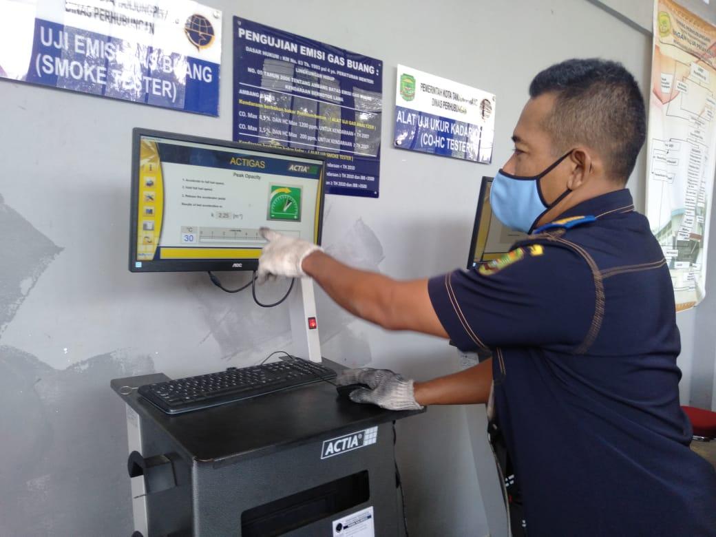 Tingkatkan Pelayanan Uji KIR, Dishub Tanjungpinang Berlakukan Smart Card