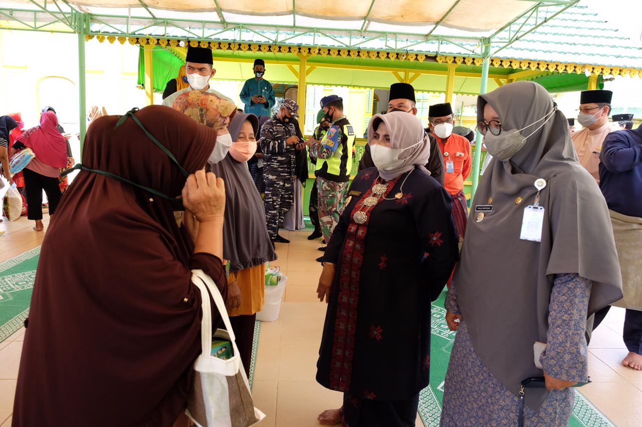 Sekian lama menanti, Akhirnya Rahma Aliri Air Bersih di Penyengat