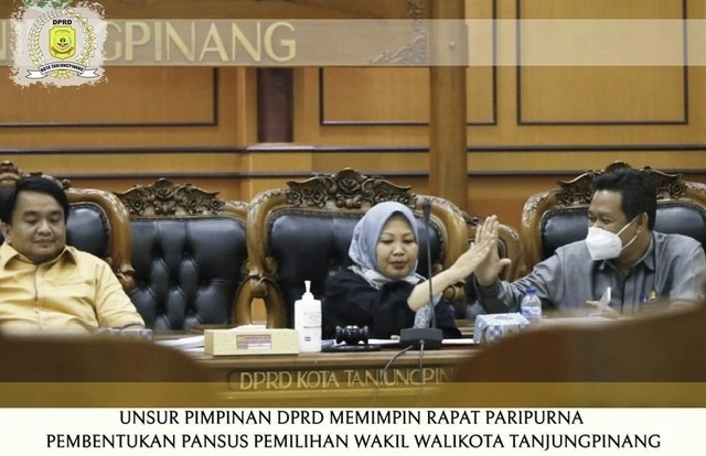 Hendy Amerta Pimpin Panlih Wawako Tanjungpinang