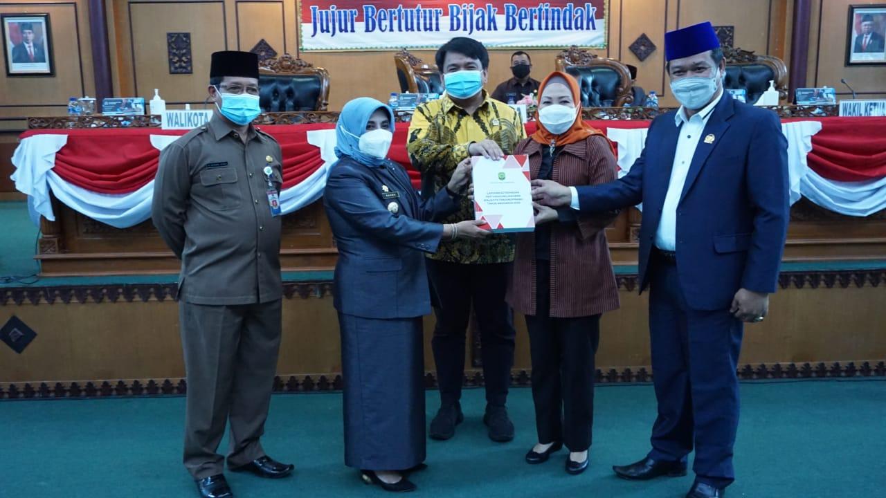 Wali Kota Tanjungpinang Sampaikan LKPJ Tahun Anggaran 2020