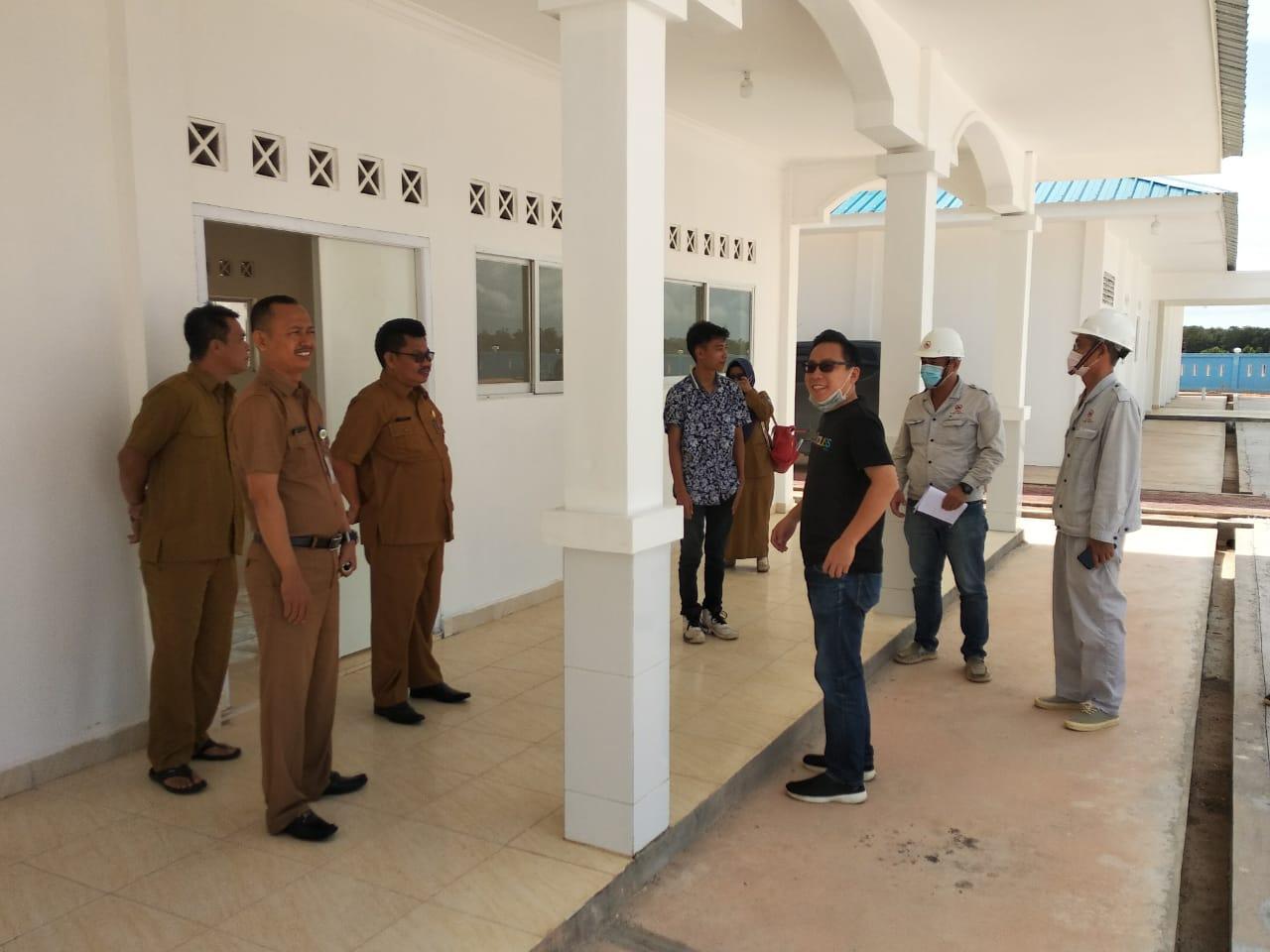 SDN 005 dan SMPN 27 Bintan Dapat Gedung Baru Dari Pemkab Bintan