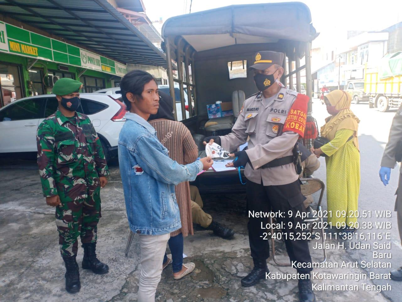 TNI/Polri dan Pol PP, Satgas Gabungan Laksanakan Operasi Yustisi