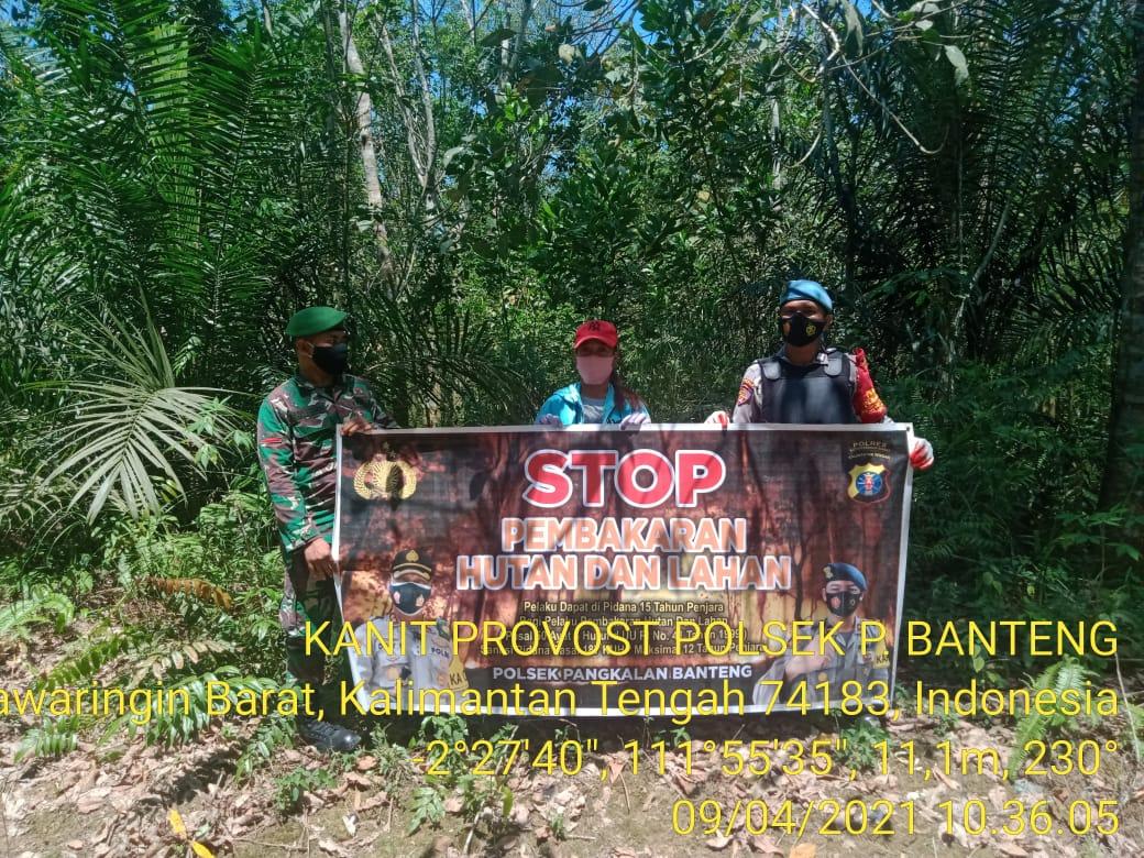 Kasat Reskrim Tekankan Personil Reskrim Jajaran Polsek untuk melakukan Patroli Karhutla di Wilayah Sektor Masing-Masing