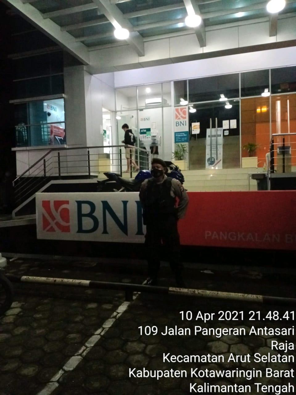 Satsabhara Polres Kobar Sambangi Bank BNI