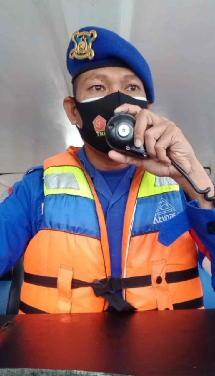 Aipda Roni Imbau ABK Patuhi Prokes Dan Prosedur Keselamatan Berlayar