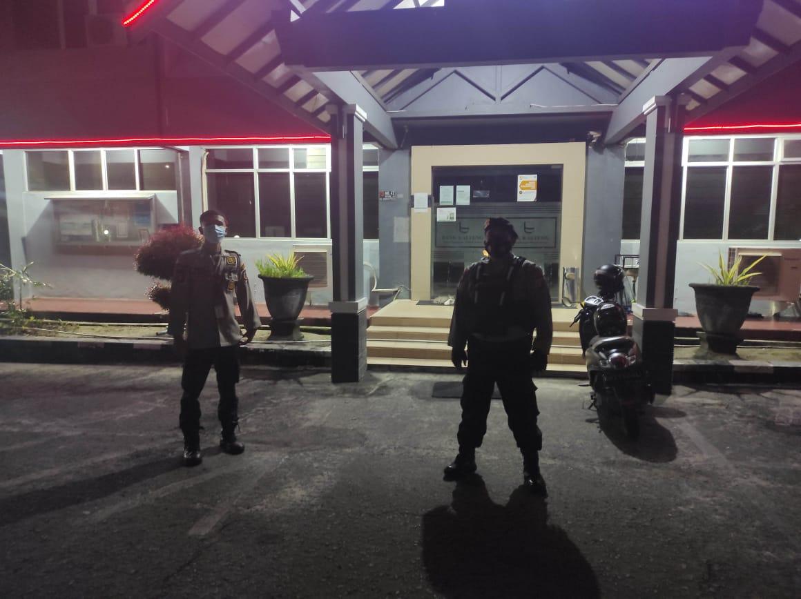 Satsabhara Polres Kotawaringin Barat Sambangi Bank Kalteng