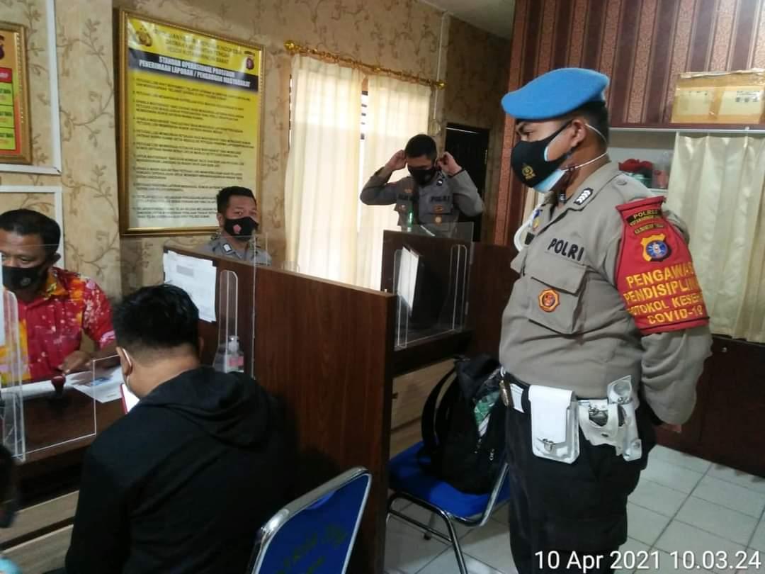 Siepropam Polres Kobar Laksanakan Pengawasan Pelayanan SPKTD Polres Kobar