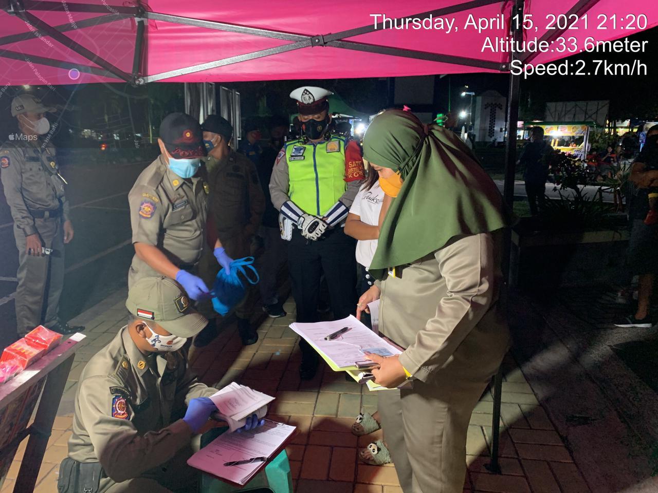 Satgas Operasi Yustisi gencar lakukan penindakan pelanggaran prokes malam hari
