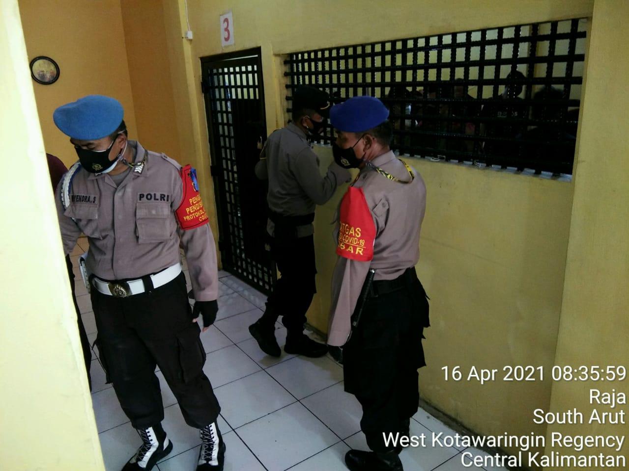 Agenda Rutin, Cek Ruang Tahanan