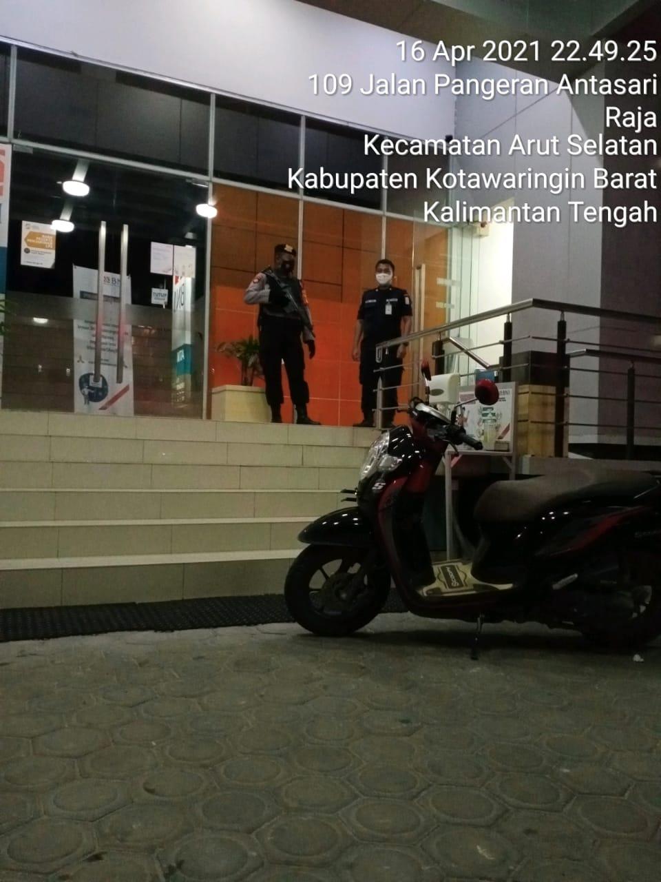 Polres Kobar Sambangi Bank BNI