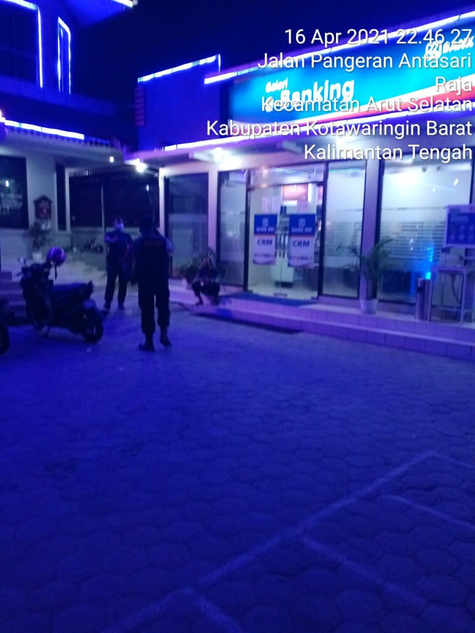 Polres Kotawaringin Barat Sambangi Bank BRI cabang kobar