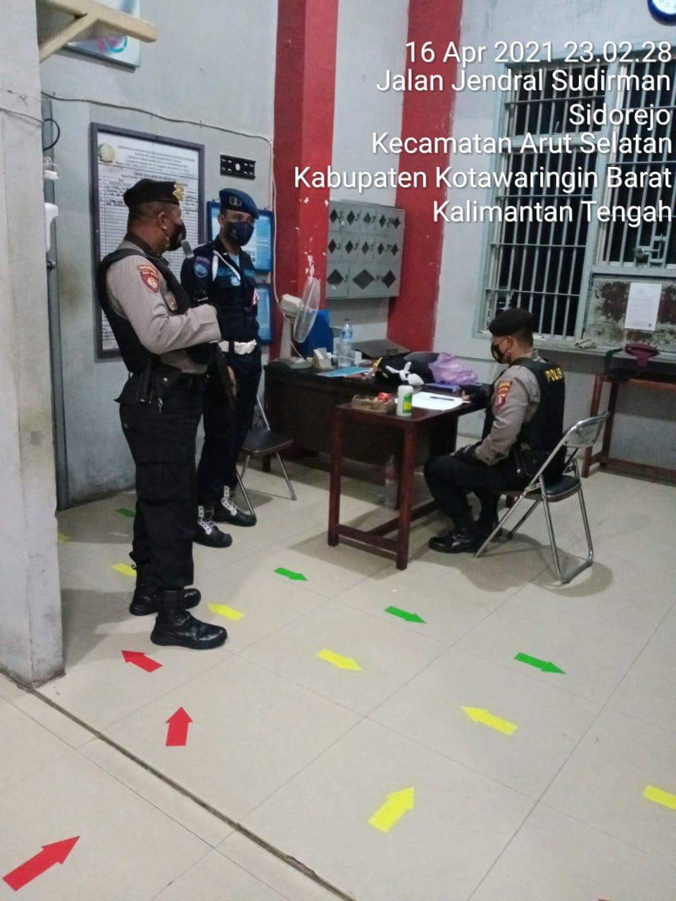 Kantor Lapas Jadi Sasaran Polisi