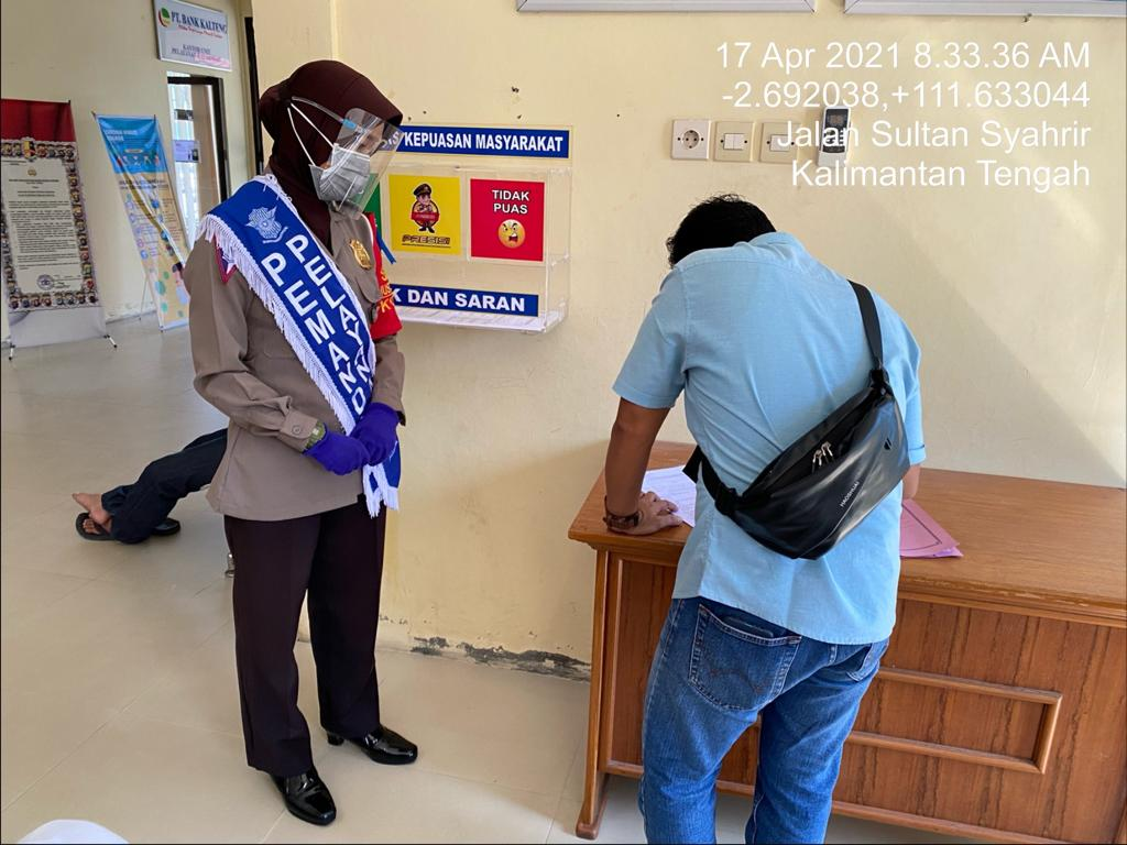 Samsat Kobar ajak Pemohon wajib Pajak berikan Indek Kepuasan Masyarakat