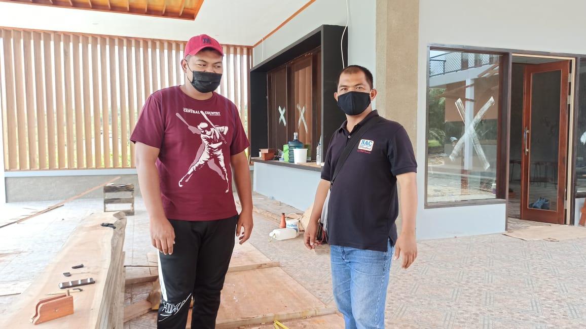 Anggota unit Intelkam Polsek Kolam Brigpol Ega Julianto Lakukan giat sambangi warga