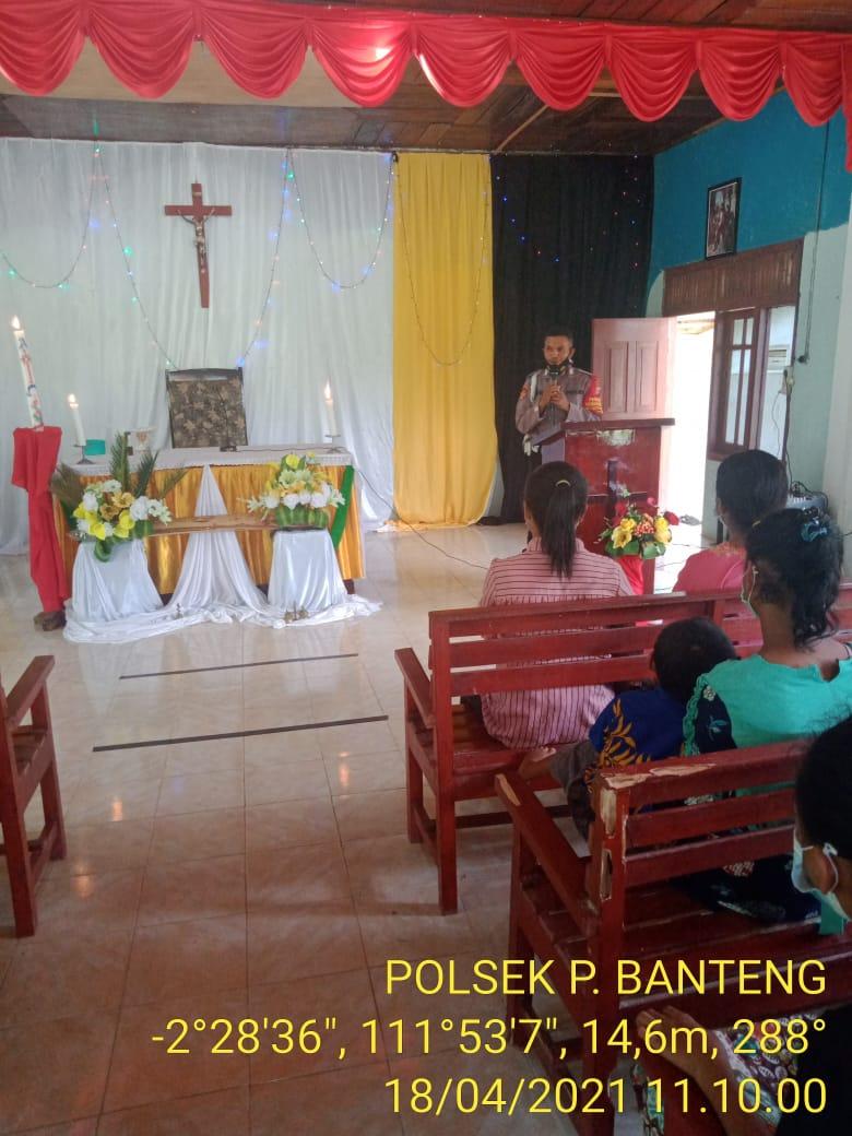 Polri laksanakan pengamanan ke gereja