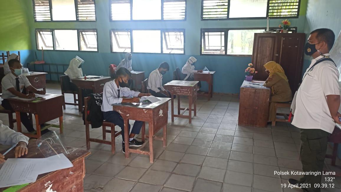 Ujian Sekolah Terapkan Prokes