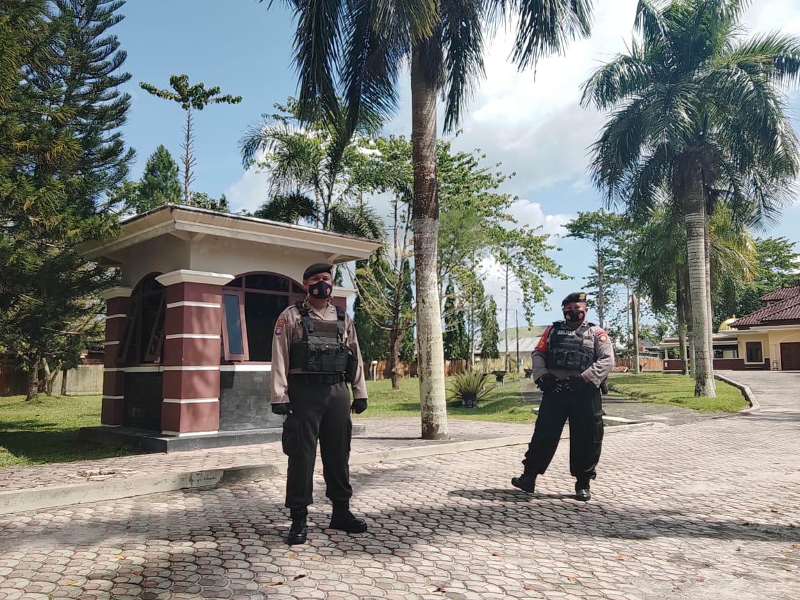 Polisi Ke Rumah Paslon Gubernur Kalteng