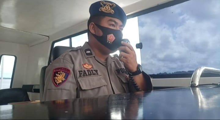 Manfaatkan Radio Channel 16 VHF , Aipda Fadli Imbau ABK Patuhi Prokes Saat Berlayar