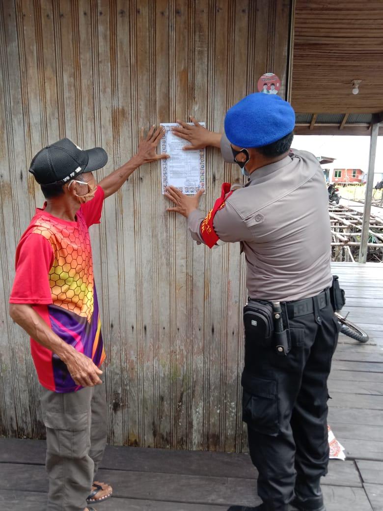Maklumat Kapolda Kalteng di Bantaran Daerah Aliran Sungai